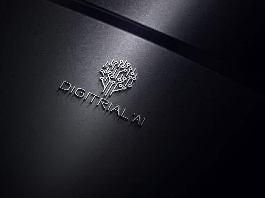 Penyertaan Peraduan #                                        198                                      untuk                                         Logo improvement for digitrial.ai
