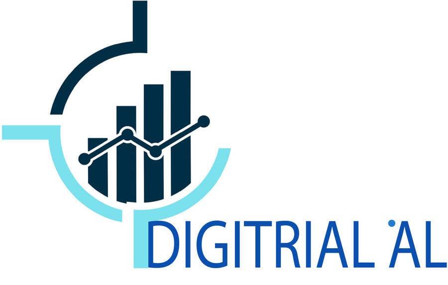 Penyertaan Peraduan #                                        52                                      untuk                                         Logo improvement for digitrial.ai