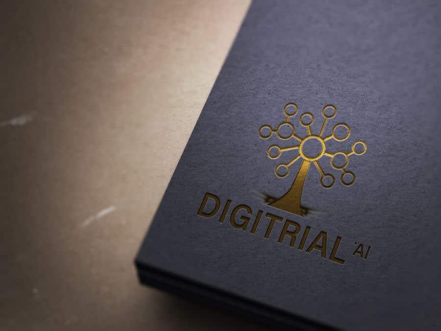 Penyertaan Peraduan #                                        88                                      untuk                                         Logo improvement for digitrial.ai
