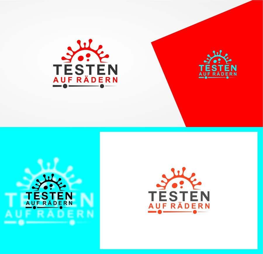 """Konkurrenceindlæg #                                        45                                      for                                         Logo for """"mobile COVID-test"""""""