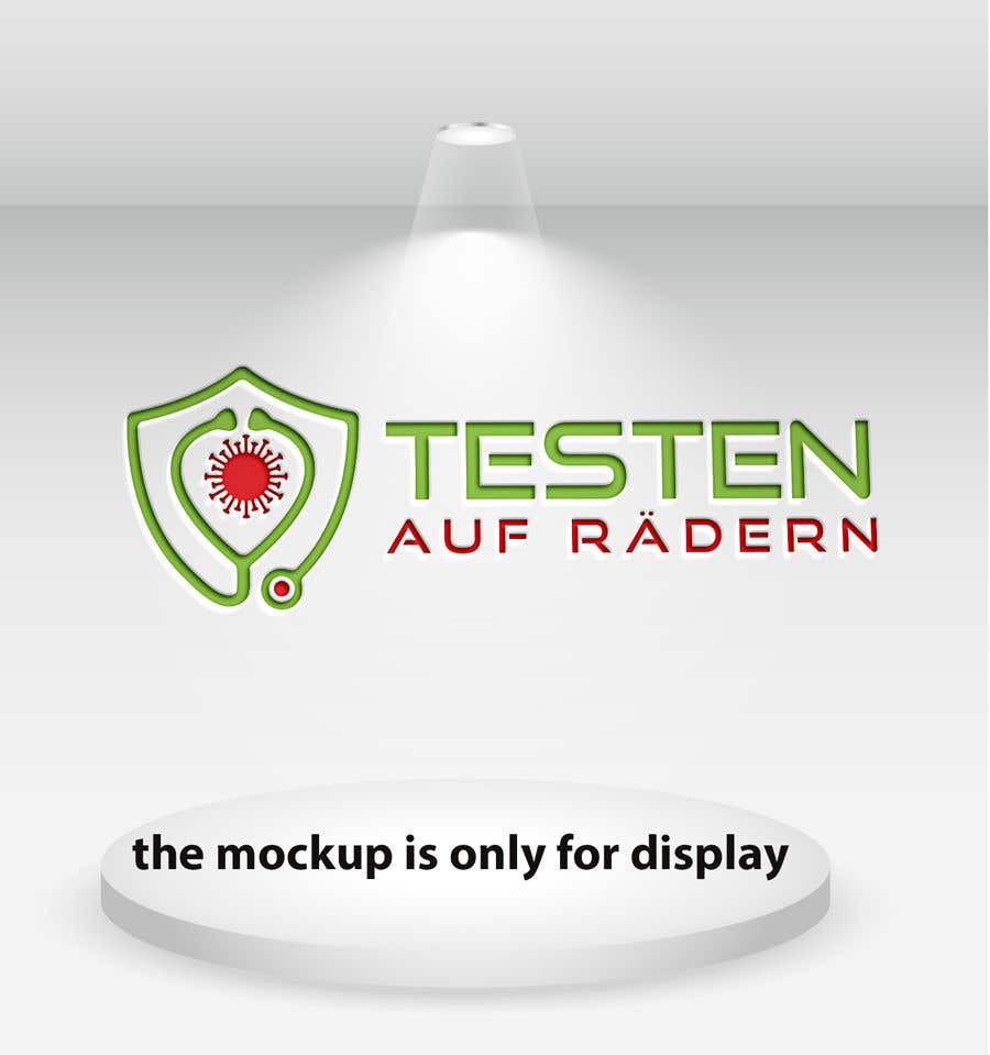 """Konkurrenceindlæg #                                        37                                      for                                         Logo for """"mobile COVID-test"""""""