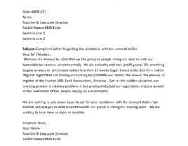 #17 pentru Creative writer needed for a complaint letter de către melitaneha79