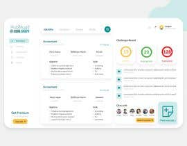 #7 for UI design for an interactive web site (re-design of our rough design) by Vaajiee