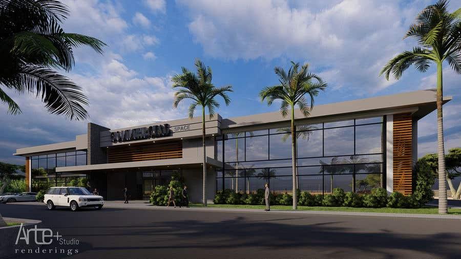 Penyertaan Peraduan #                                        10                                      untuk                                         2 Story Commercial Architectural renderings with floor plans