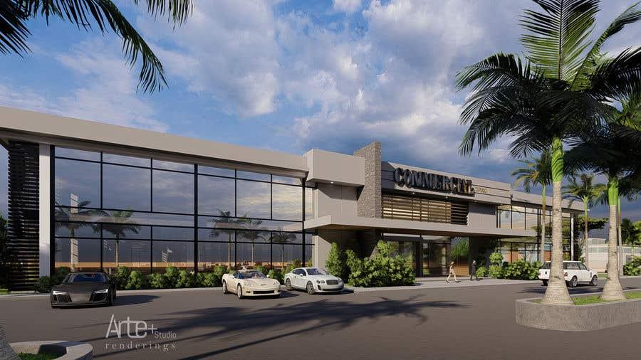 Penyertaan Peraduan #                                        12                                      untuk                                         2 Story Commercial Architectural renderings with floor plans