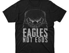 #86 untuk Eagles T-Shirt Design oleh moisanvictores