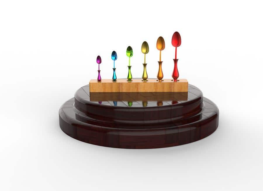Kilpailutyö #                                        30                                      kilpailussa                                         * WANTED * Custom Product Design - Measuring Spoons