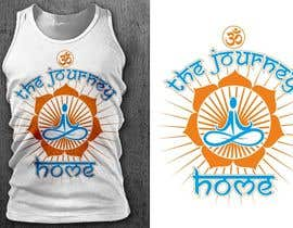 nº 26 pour Design a T-Shirt for a Yoga/Ashtanga inspired clothing company par GautamHP