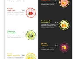 #39 untuk drinks menu for restaurant oleh himelrafi101