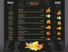 #35 para drinks menu for restaurant por joyantabanik8881