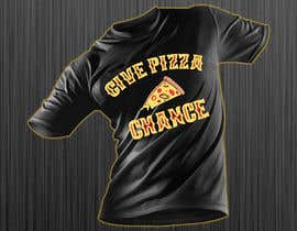 #110 for Artistic T-Shirt Design, Give Pizza Chance af azmiridesign