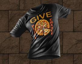 #34 for Artistic T-Shirt Design, Give Pizza Chance af gmsamim