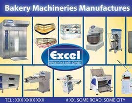 #12 for Flyer Design for Bakery Machinery and Refrigeration Equipment af Manojm2