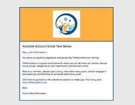 Nro 2 kilpailuun Design and html for email notification käyttäjältä gustavofulanetto