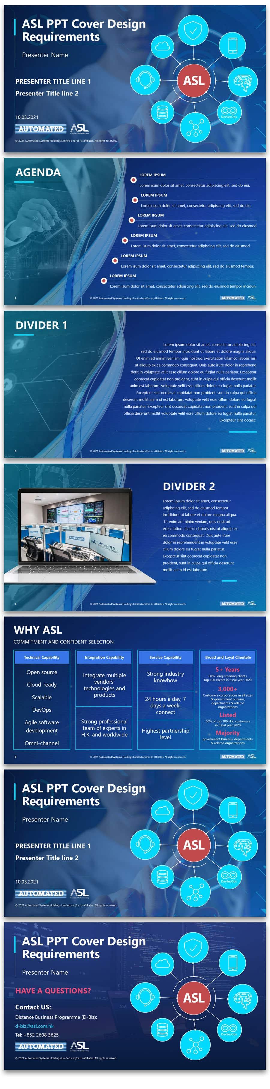 Bài tham dự cuộc thi #                                        39                                      cho                                         Corporate PPT Template Design (6 slides)