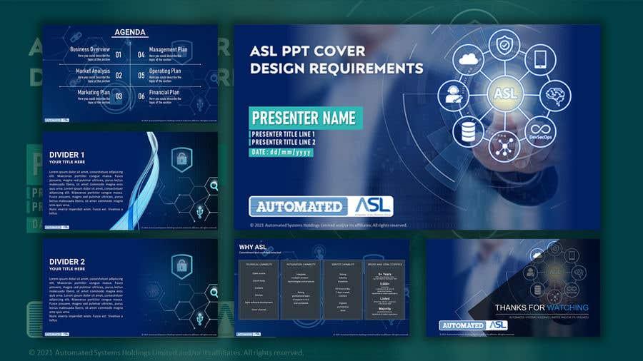 Bài tham dự cuộc thi #                                        58                                      cho                                         Corporate PPT Template Design (6 slides)