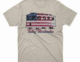 moisanvictores tarafından T-shirt.design.American-Trolley-flag için no 26