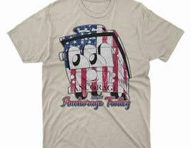 moisanvictores tarafından T-shirt.design.American-Trolley-flag için no 80
