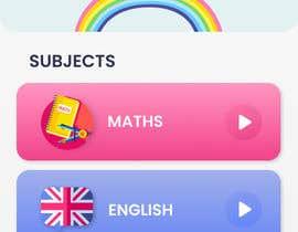 #62 cho Design 3 mobile screen for a kids educational app bởi graphstudio
