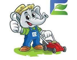 #67 cho Lawn care company cartoon elephant mascot bởi ronieyob