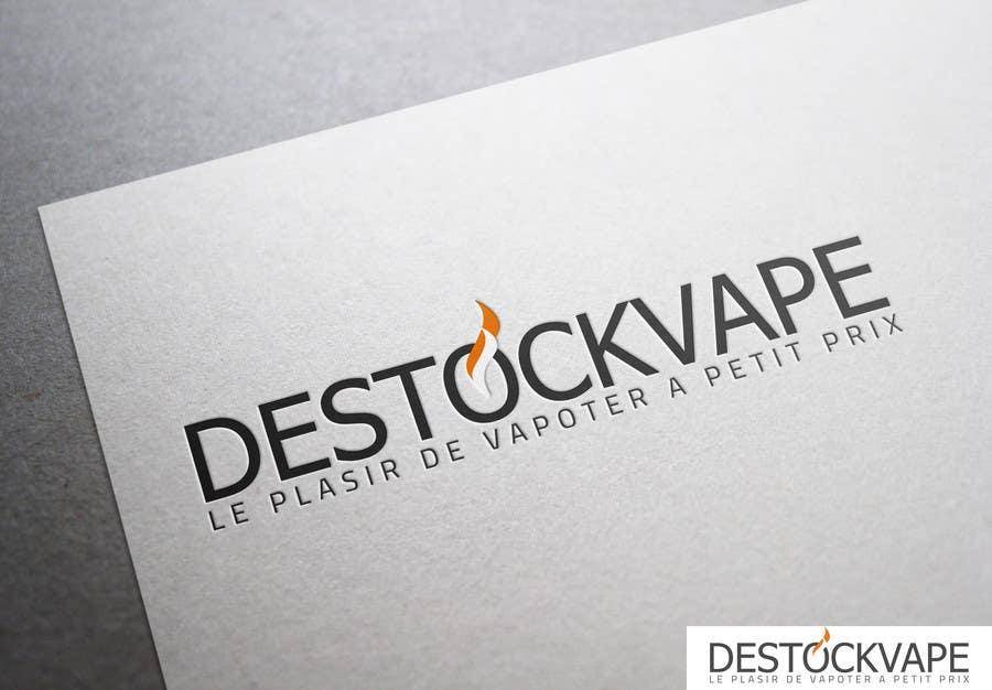 Konkurrenceindlæg #                                        14                                      for                                         Concevez un logo pour destockvape