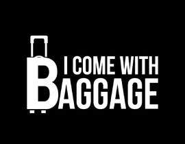 #351 для I Come with Baggage (Logo) от sifatahmed21a
