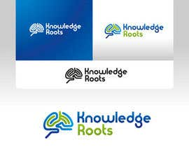 #40 para Logo Design for Knowledge Roots por tijamee
