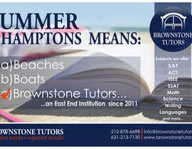 #31 for Advertisement Design for Brownstone Tutors by rpaarquitectura