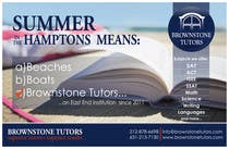 Contest Entry #32 for Advertisement Design for Brownstone Tutors