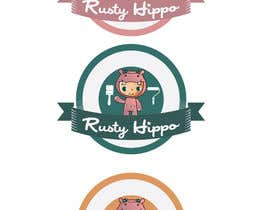 #84 para Can YOU Fix my Logo? EASY MONEY! ReDesign Logo for Rusty Hippo por RIonutCristian