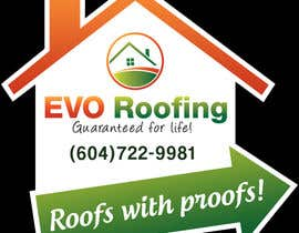 #9 for Lawn sign for Roofing company by prijatel
