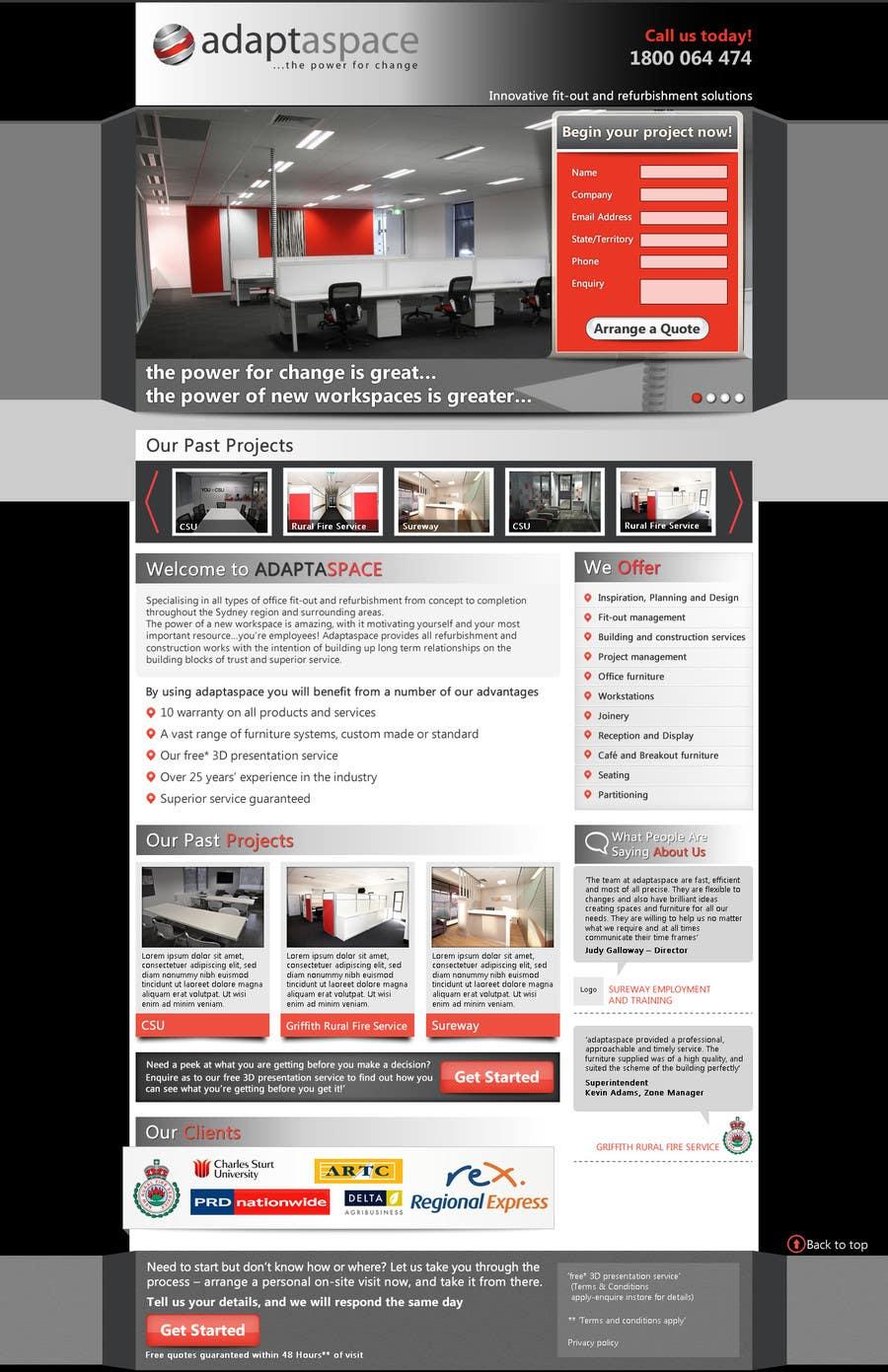 Konkurrenceindlæg #                                        13                                      for                                         Graphic Design for Landing Page