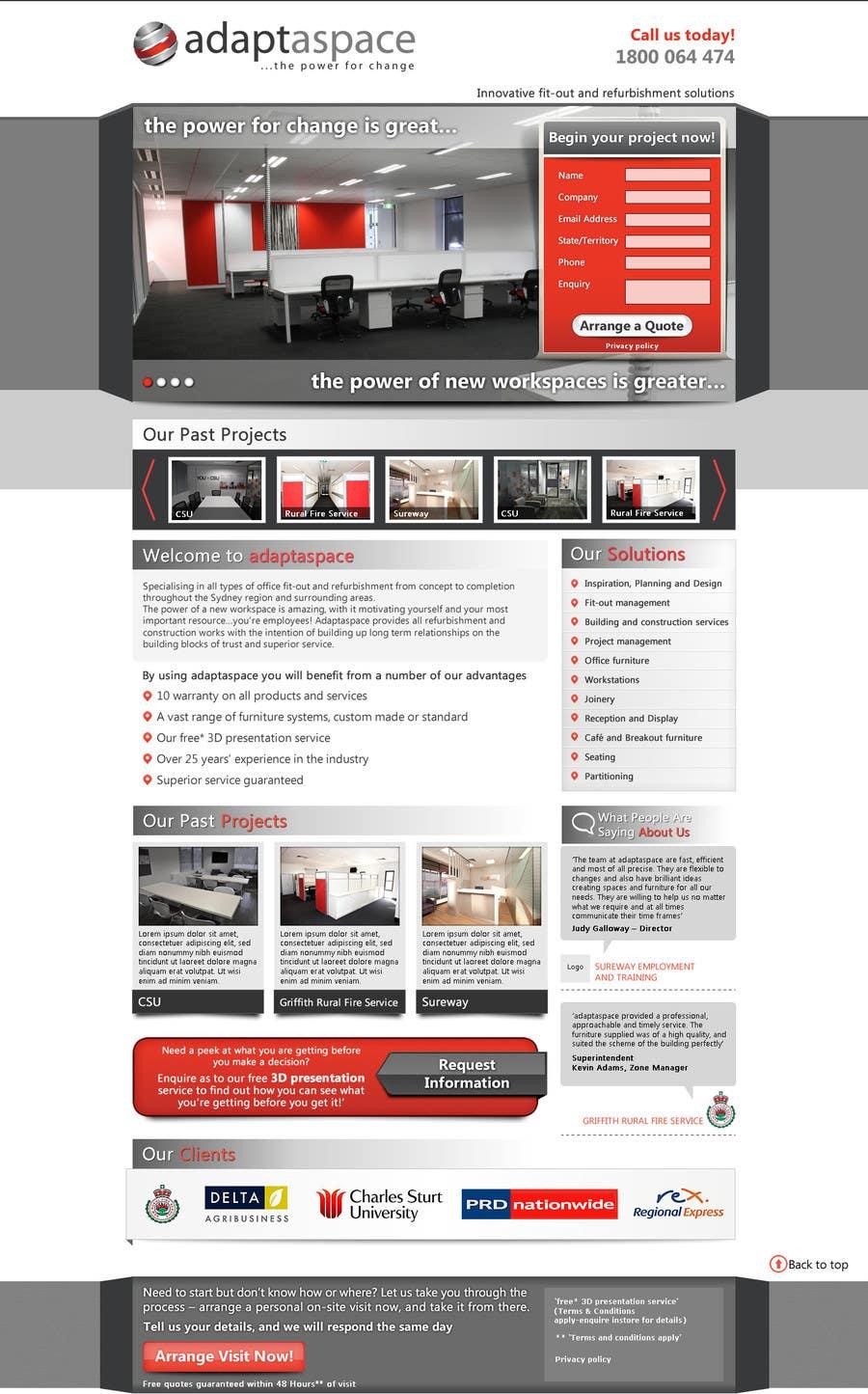 Konkurrenceindlæg #                                        23                                      for                                         Graphic Design for Landing Page
