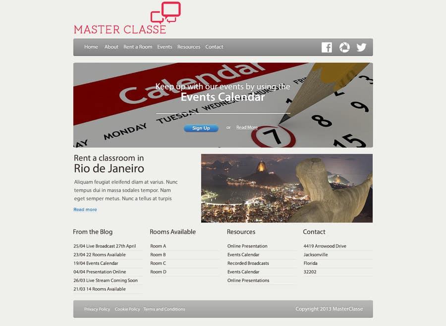 Inscrição nº                                         5                                      do Concurso para                                         Wordpress Theme Design for MasterClasse