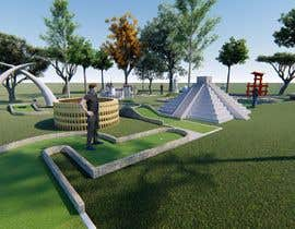 #21 pentru Mini Golf hole design--Around the World in 18 Holes de către aliwafaafif