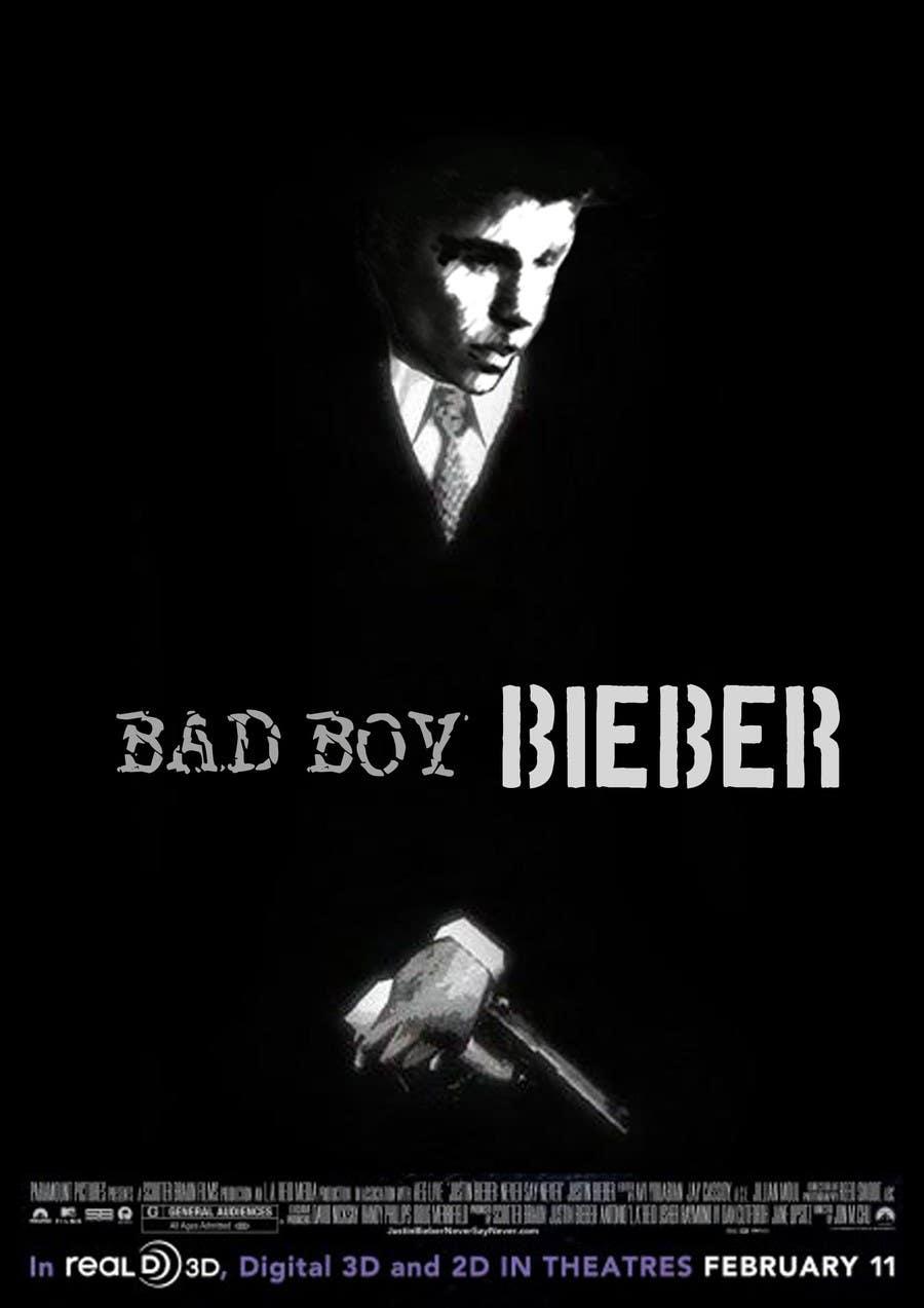 #168 for Design a poster for Gangster @JustinBieber, #BadBoyBieber! by sinke002e