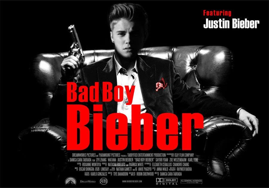 #144 for Design a poster for Gangster @JustinBieber, #BadBoyBieber! by designart65