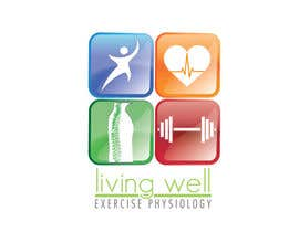 nº 62 pour Logo Design for Living Well Exercise Physiology par WendyRV