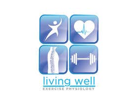 #65 para Logo Design for Living Well Exercise Physiology por WendyRV