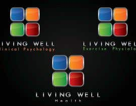 nº 33 pour Logo Design for Living Well Exercise Physiology par DailynHUng