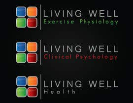 #79 untuk Logo Design for Living Well Exercise Physiology oleh DailynHUng