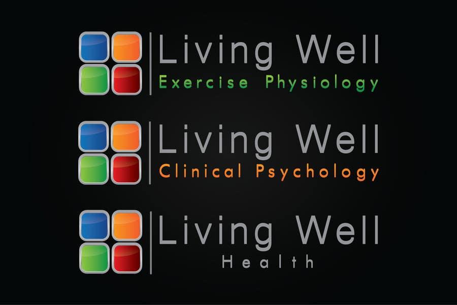 Kilpailutyö #92 kilpailussa Logo Design for Living Well Exercise Physiology
