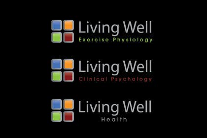 #57 para Logo Design for Living Well Exercise Physiology por iffikhan