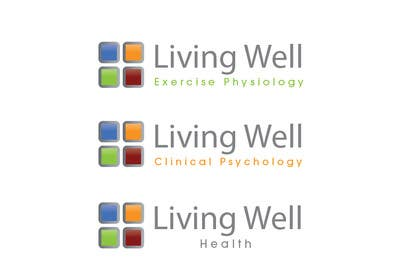 #85 untuk Logo Design for Living Well Exercise Physiology oleh iffikhan