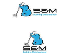 #16 untuk Logo for S&M Building Maintenance business card oleh AWAIS0