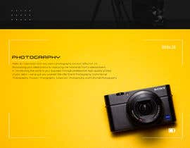 #9 for Web Page Design - redesign Services page for photography business by jahidbhuiyan010