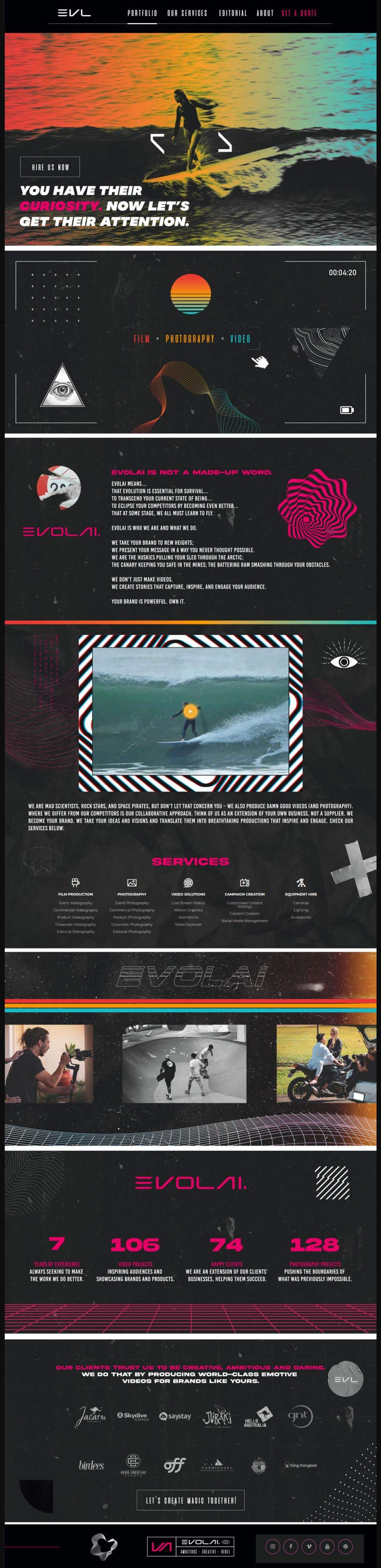 Contest Entry #                                        10                                      for                                         Web Page Design - redesign Services page for photography business