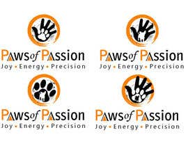 #135 for Designa en logo for Paws of Passion af nat385