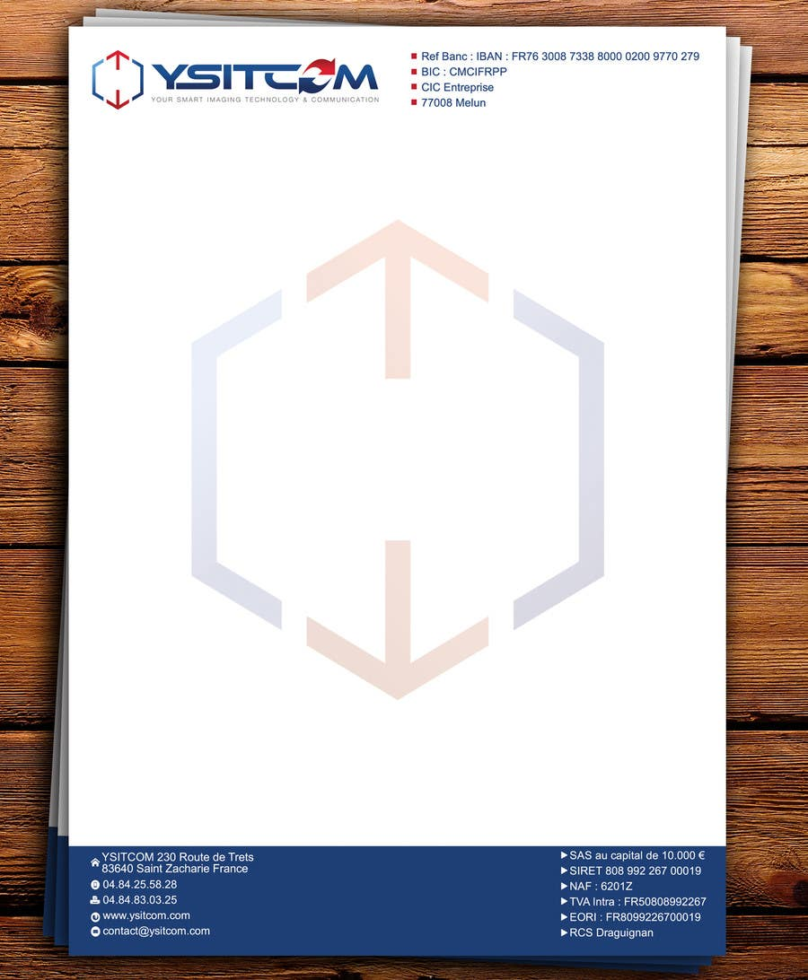 Contest Entry #10 for Letterhead design for my company
