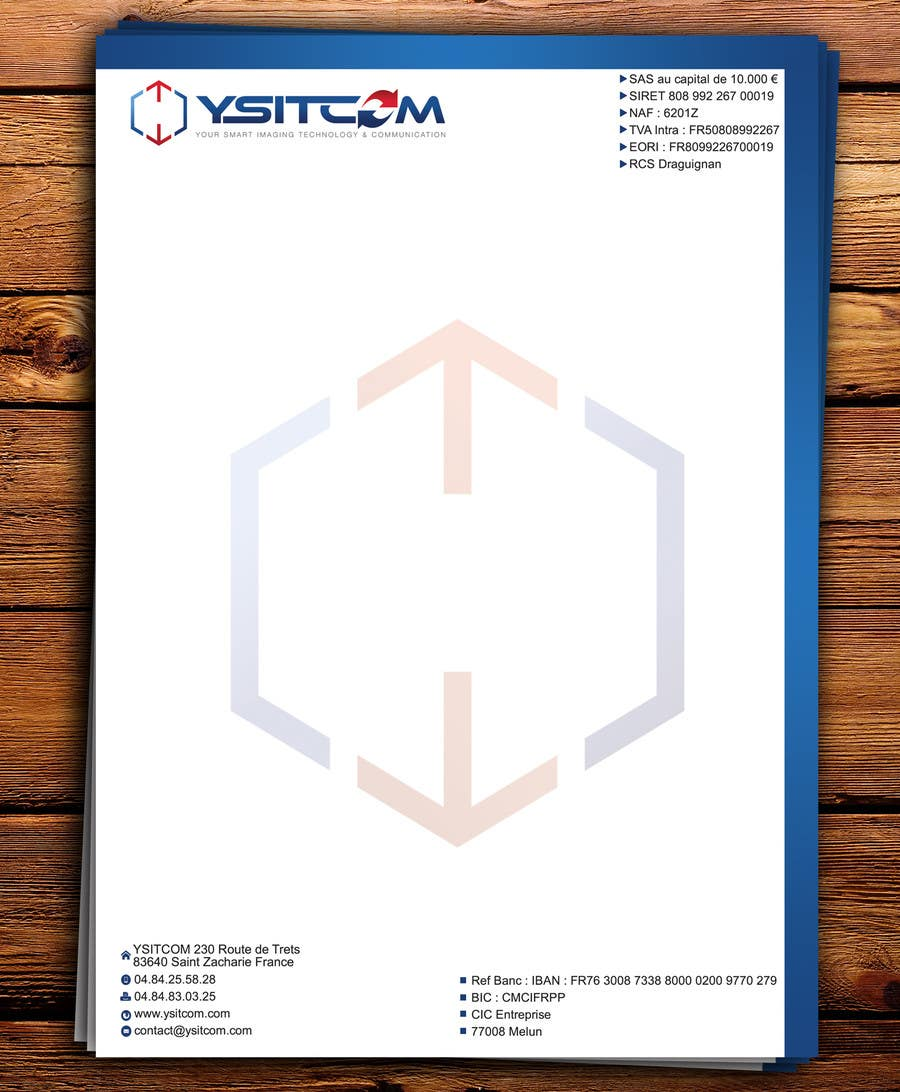 Contest Entry #12 for Letterhead design for my company